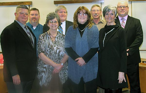 The Coldwater Board of Education. (Photo by Christy Hart-Harris, The Daily Reporter)