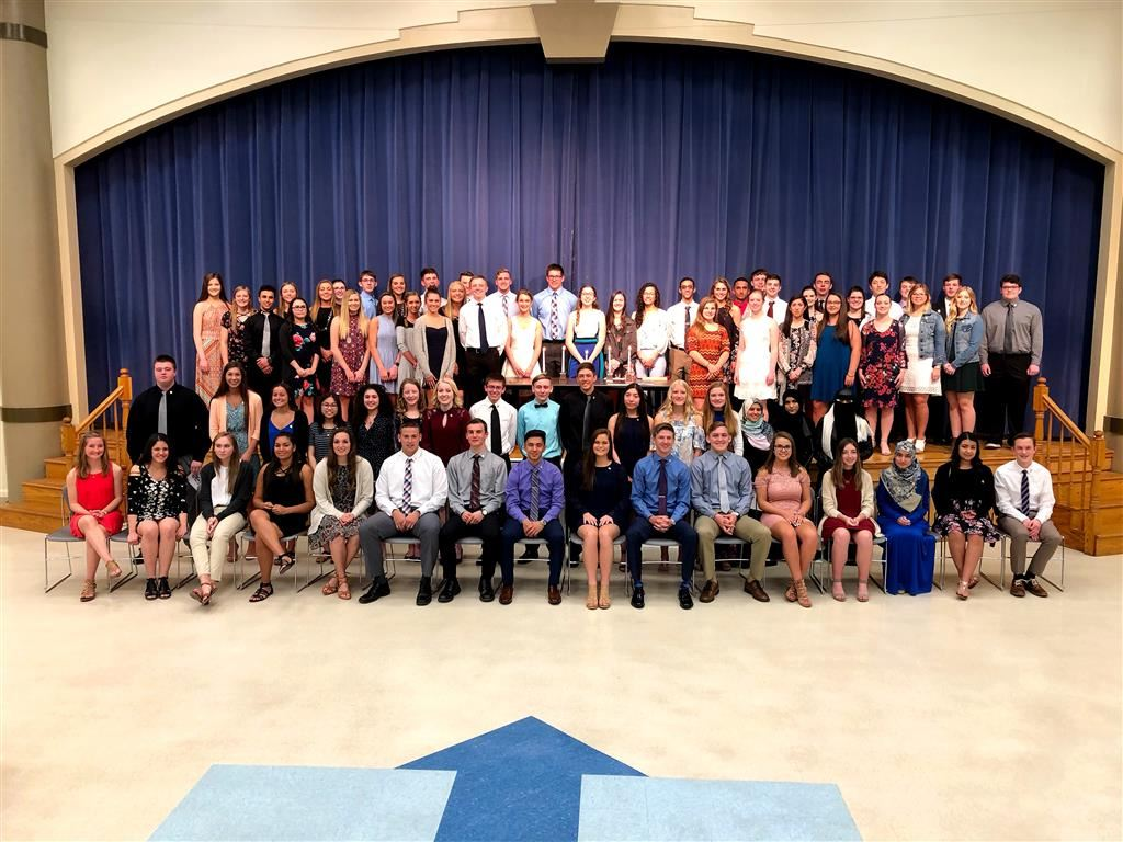 National Honor Society, Coldwater High School Chapter