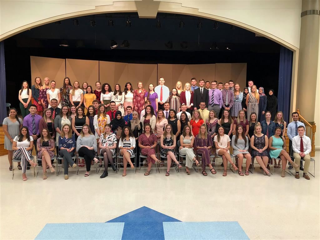 National Honor Society, Coldwater High School Chapter (including students from the Class of 2019 who have graduated)